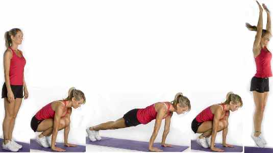Burpee Exercise: Amazing Workout to Lose Weight