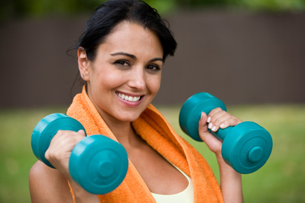 Free Weights Exercises: Stay Fit