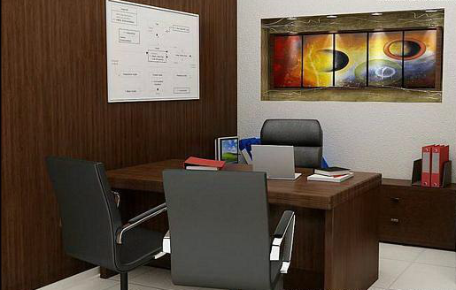 Latest corporate offices interior designs for Small office cabin interior design ideas