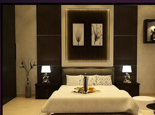 Latest residential interior designs Modern bedroom designs 2012