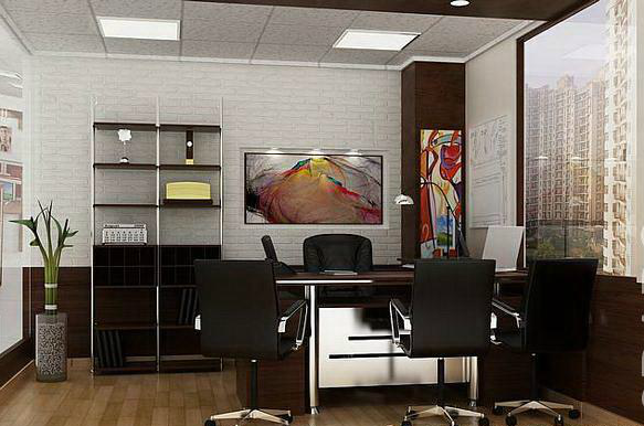 Cabin Style Office : Latest corporate offices interior designs