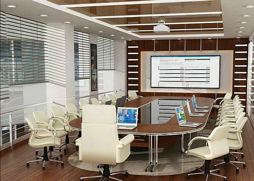 Latest interior design for corporate offices for Office design board