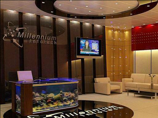 Latest corporate offices interior designs for Office cabin interior design images