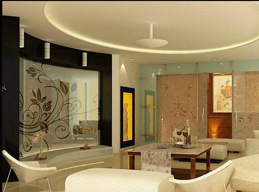 Latest residential interior designs for Living room designs indian style