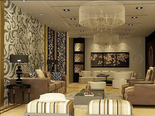 Lovely Latest Residential Interior Designs
