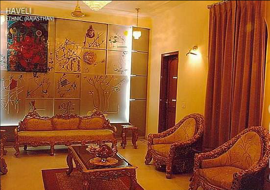 Latest designs for residential projects for Indian ethnic living room designs