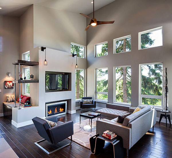 Eclectic and Cozy House where Modern Meets Rustic! (8)