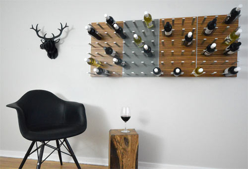 Best Way to Store your Wine! Beautiful Wall Sticker! (9)