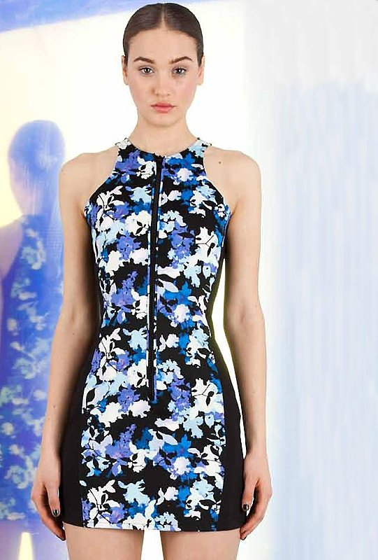 Selected Floral pattern Dresses for Spring 2013 (12)