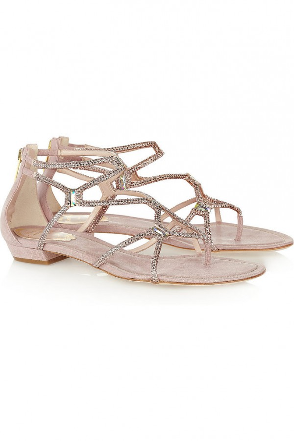 Best Shoes to Wear on Wedding Day for Tall Brides (15)