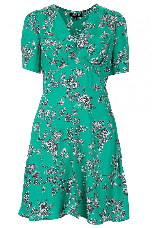 Selected Floral pattern Dresses for Spring 2013 (11)