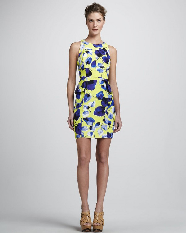 Selected Floral pattern Dresses for Spring 2013 (7)