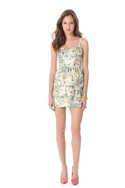 Selected Floral pattern Dresses for Spring 2013 (4)