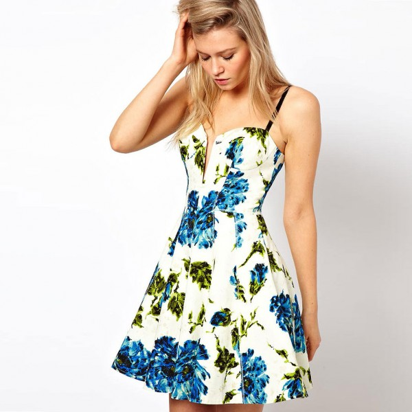 Selected Floral pattern Dresses for Spring 2013 (2)