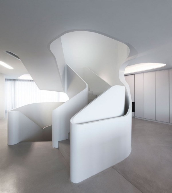 A Futuristic House Design in Stuttgart, Germany: The OLS House (6)