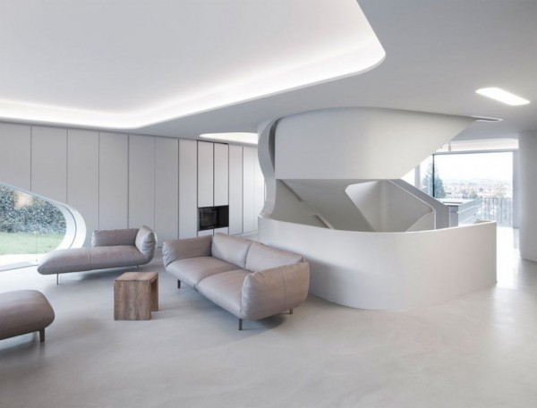 A Futuristic House Design in Stuttgart, Germany: The OLS House (10)