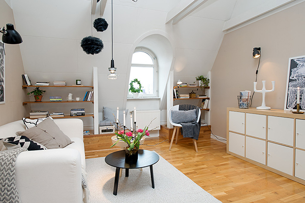 Swedish Attic Apartment with a Great View of City Heart (4)