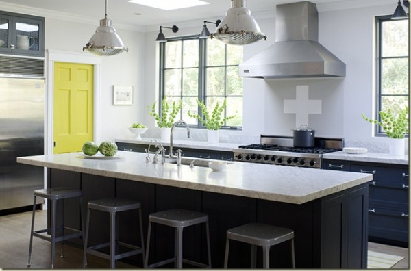 Amazing Timeless Shade of a Kitchen (2)
