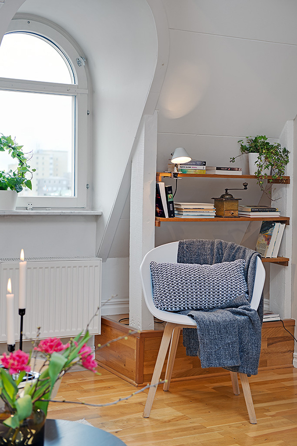 Swedish Attic Apartment with a Great View of City Heart (1)