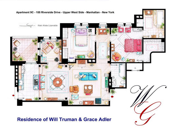 Most famous TV studios in One Article: Floor Plan of 10 Studios (8)