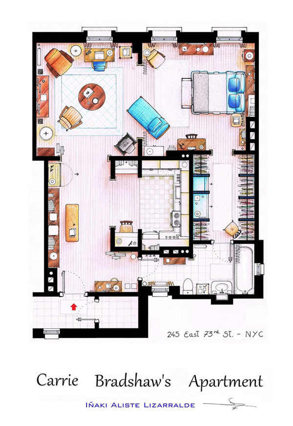 Most famous TV studios in One Article: Floor Plan of 10 Studios (7)