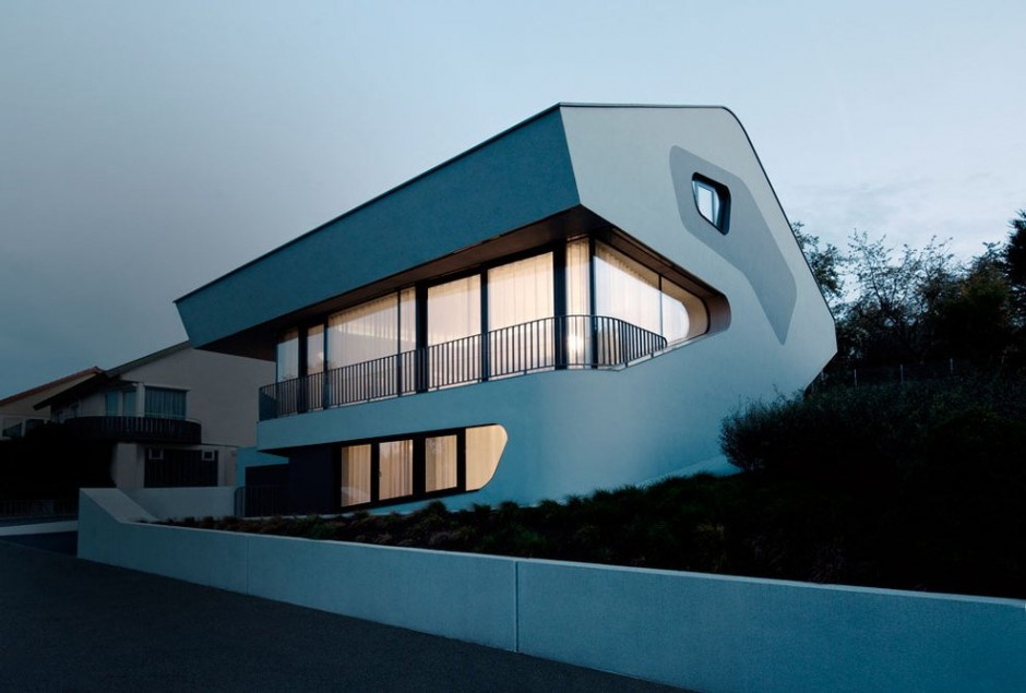 A Futuristic House Design in Stuttgart, Germany: The OLS House (17)