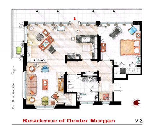 Most famous TV studios in One Article: Floor Plan of 10 Studios (6)