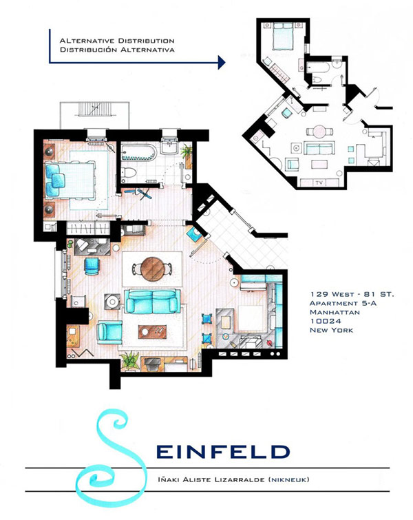 Most famous TV studios in One Article: Floor Plan of 10 Studios (4)