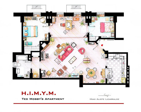 Most famous TV studios in One Article: Floor Plan of 10 Studios (1)