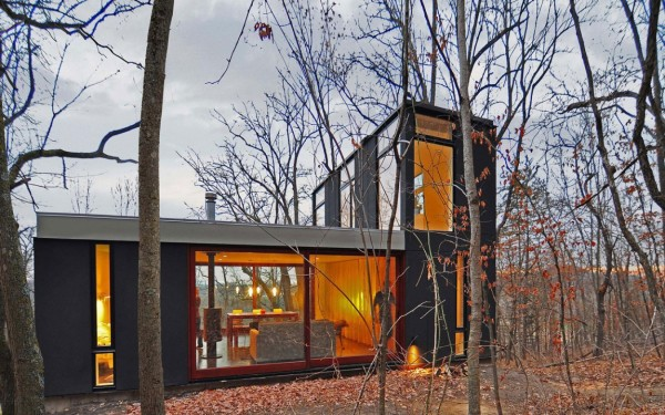 Economical Friendly Cabin for Family surrounded by Wood in Wisconsin (4)