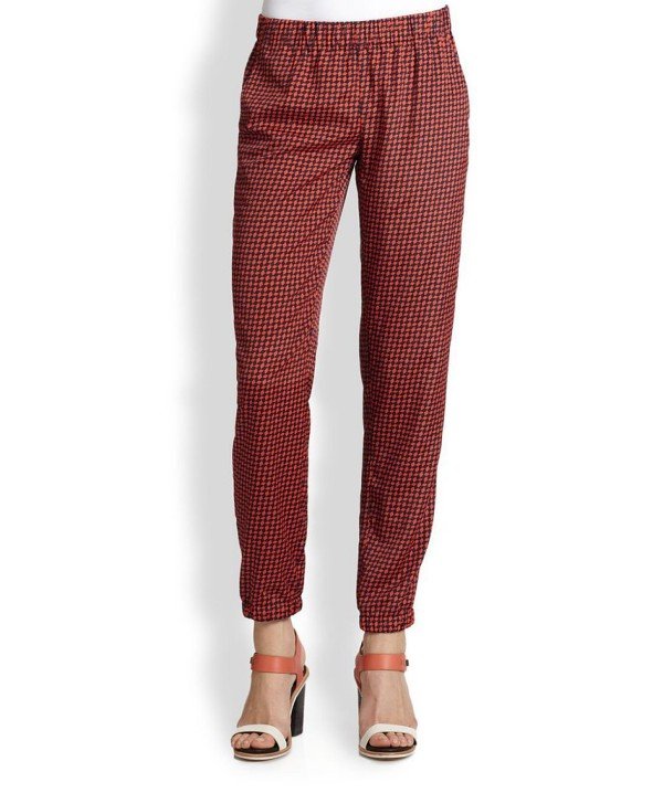 Try These Slouchy Printed Pants (8)
