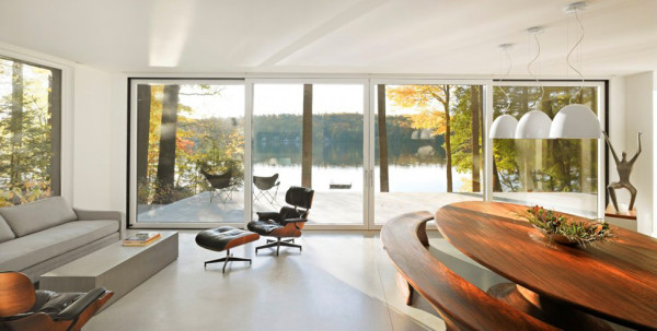 Lake Side Modern House in Vermont (9)