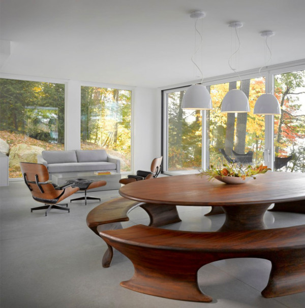 Lake Side Modern House in Vermont (8)