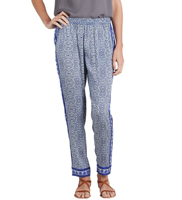 Try These Slouchy Printed Pants (2)