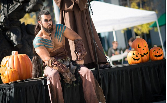 Rene Koiter-A Fan -Transforms Himself to Khal Drogo