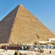 Great Pyramids: oldest of the world's seven wonders