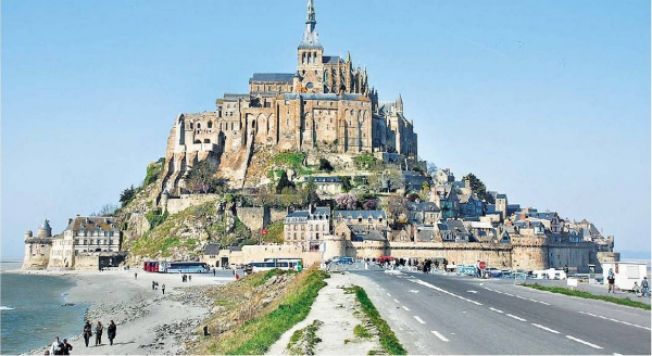 Web Unique: 1) Mont Saint-Michel – French Monastery 2) A Chinese Love-Lore