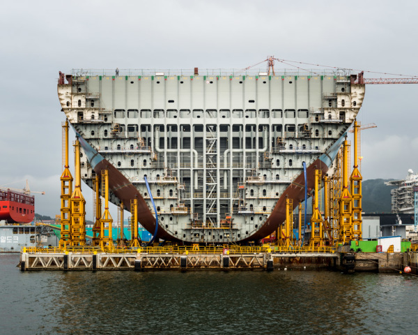 Know How: The Building Of The Largest Container Vessel.