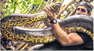 Discovery Channel's Controversy : Anaconda  Swallowing Alive Rosolie
