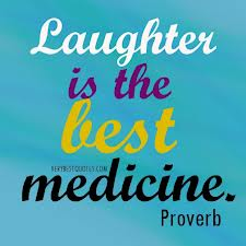 Laughter is the Dawn of Life.