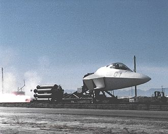 F-22_Forebody_on_MASE_sled