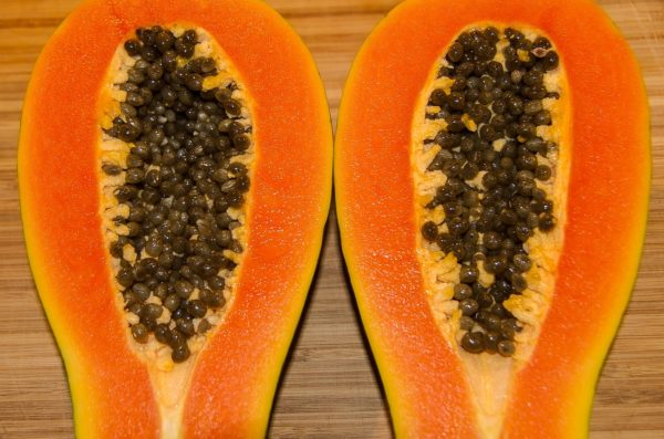 papaya food for reducing stomach size