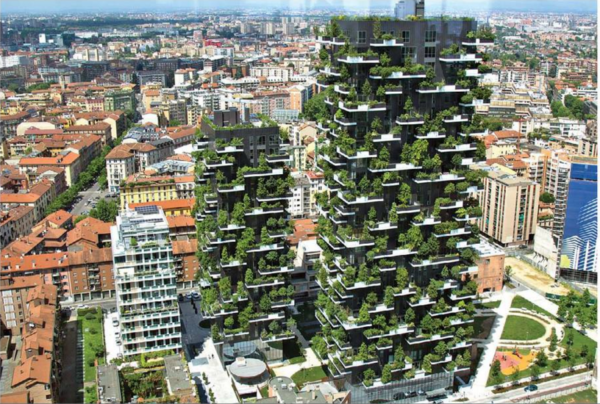 See Here World's Vertical Forest For the First Time in Milan