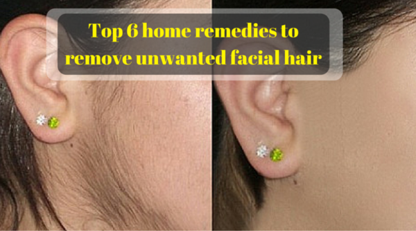 Six Home Remedies To Remove Unwanted Facial Hair
