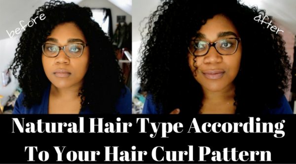 Natural Hair Type According To Your Hair Curl Pattern