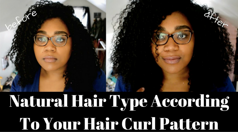 Natural Hair Type According To Your Hair Curl Pattern Fascinating Natural Hair Curl Pattern