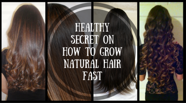 Healthy Secret On How To Grow Natural Hair Fast