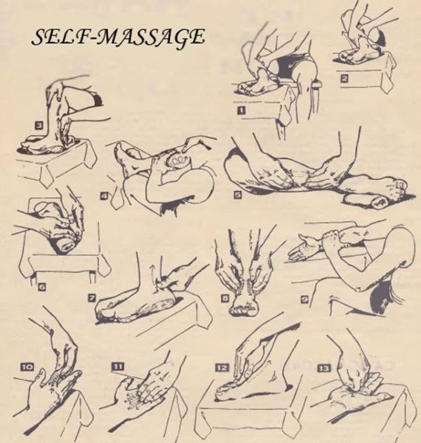 Here is how to get benefits of Self-Massage