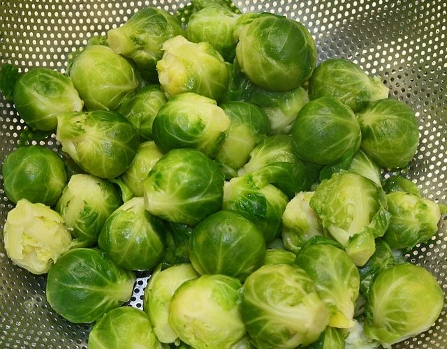 Brussel sprouts: healthiest food